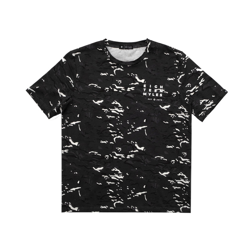 BLACK CITY CAMO T-SHIRT