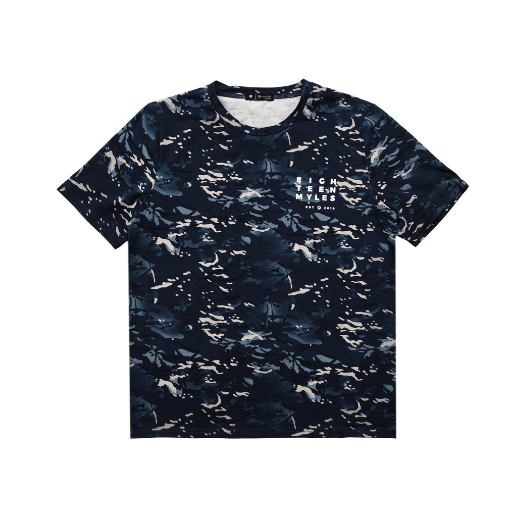 NAVY CITY CAMO T-SHIRT