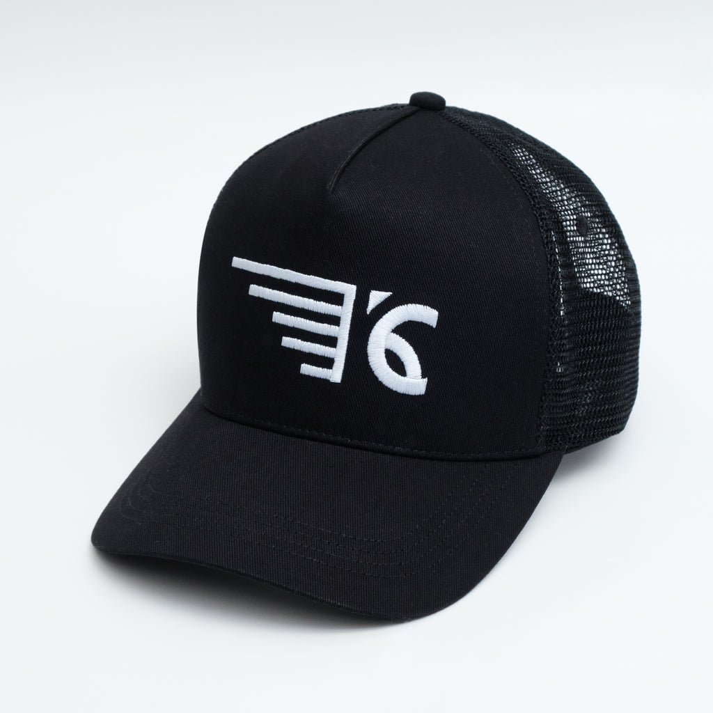 SIDE WING TRUCKER CAP