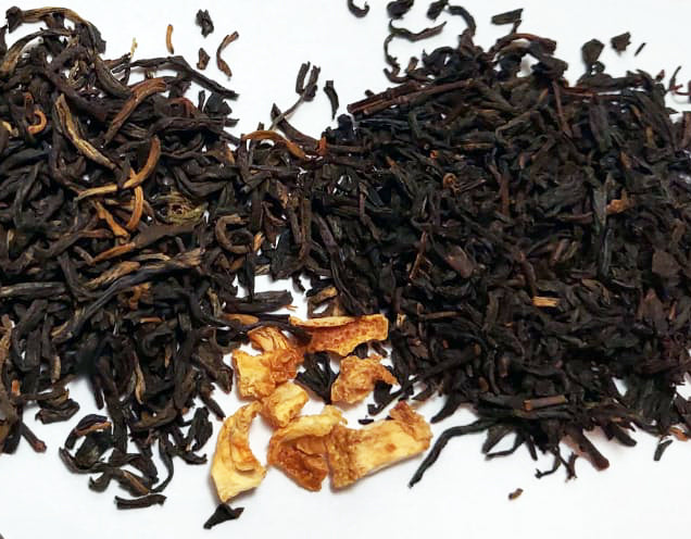 Black Tea Blend With Orange Peel