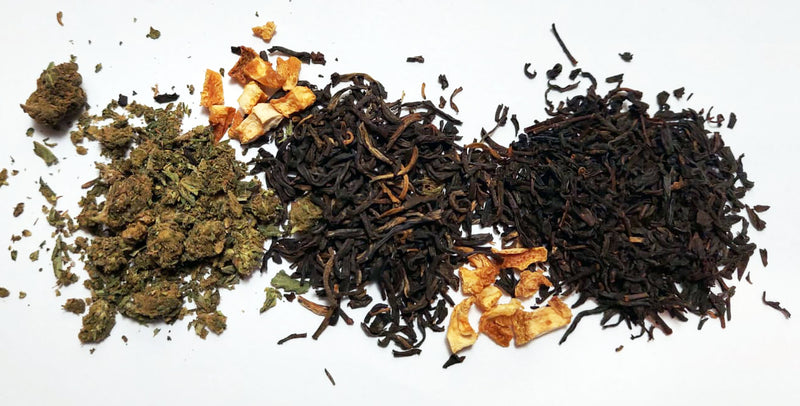 Hemp and Black Tea Blend With Orange Peel