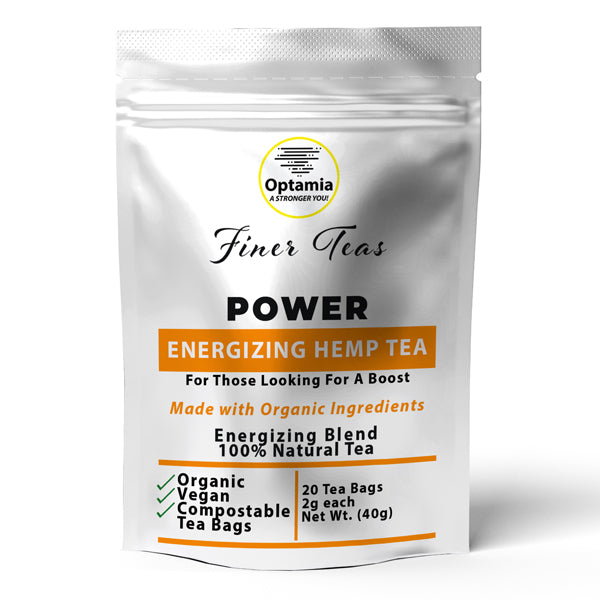 Power Energizing Hemp Tea