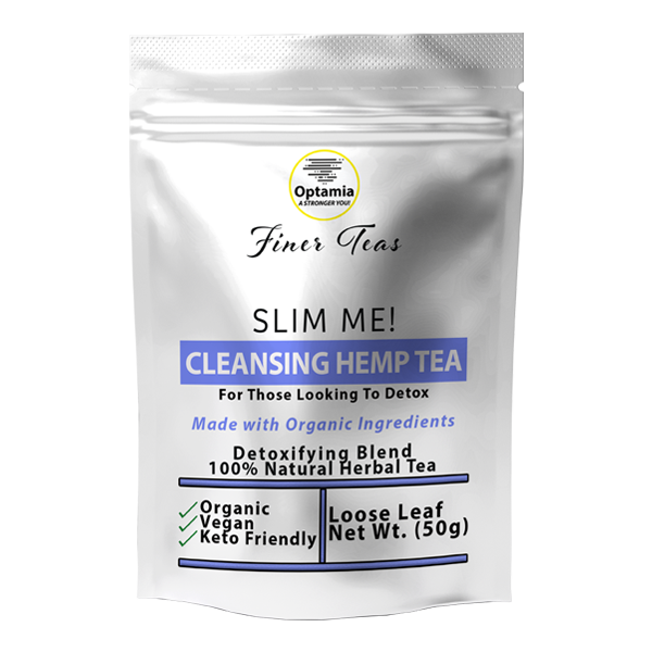 Slim Me! Cleansing Herbal Hemp Tea - Loose Leaf