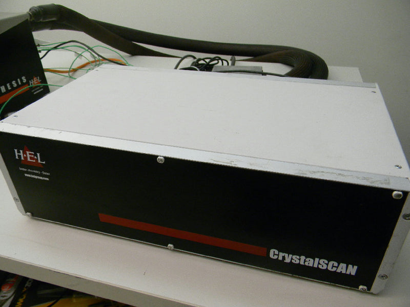 Used: HEL CrystalScan Automated Crystallisation Screening System with PolyBLOCK
