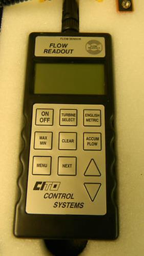 Used: Cito Products Digital Flow Readout FR-9600 Flow Calibrator rotoflow RFH-0606-C