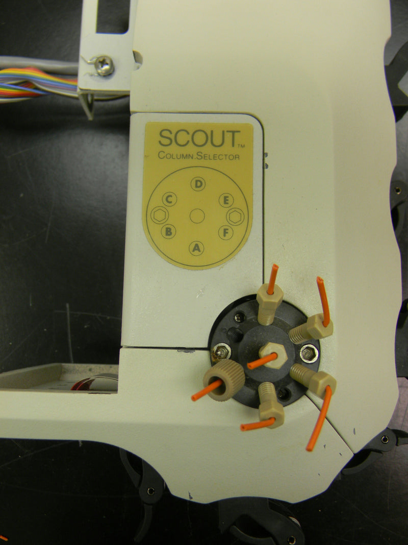 Used: Thermo Applied Biosystems Scout Multi-Column Selector for BioCad Integral 100Q