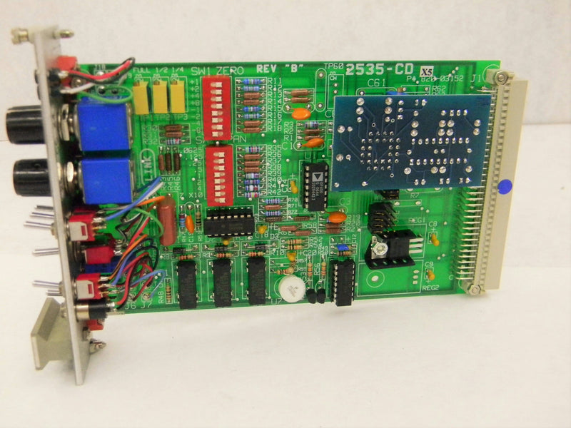 Used: Link Engineering 2535 CD-X5 Control Boards Conditioner Cards