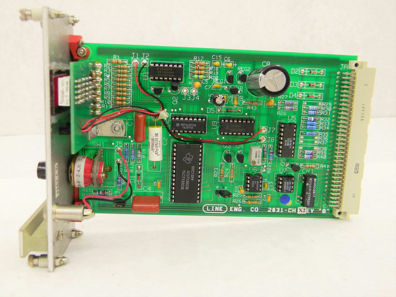 Used: Link Engineering 2031 CH Rev B X2 Control Boards Voltmeter