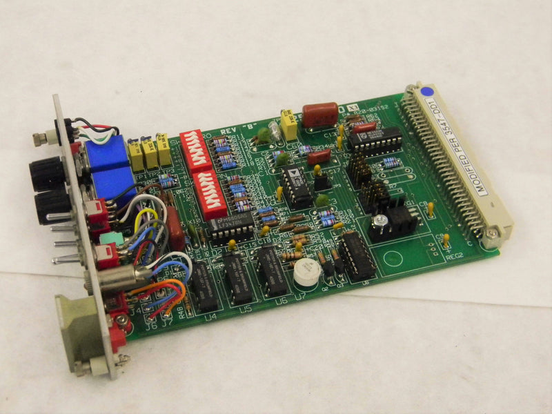 Used: Link Engineering 2535-CD X3 Rev. B Control Boards Conditioner Card Modified