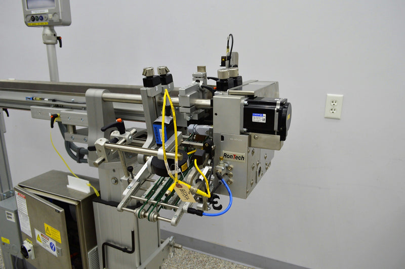 Used: RonTech MF / CoF2 Compact Friction Feeder Pharmaceutical Food Pamphlet Inserter
