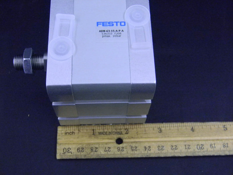 Festo 536333 ADN-63-15-A-P-A Compact Pneumatic Cylinder 10bar with Warranty