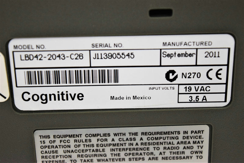Cognitive Advantage LX LBD42-2043-C26 Direct Thermal Label Barcode Printer
