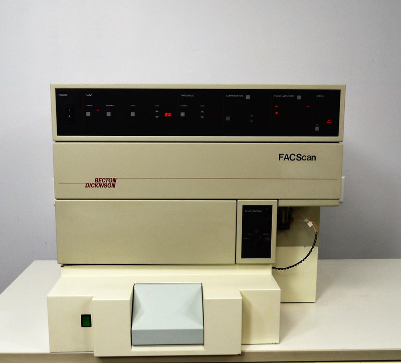 For Parts or Repair: Becton Dickinson FACScan Flow Cytometer Cell Analysis