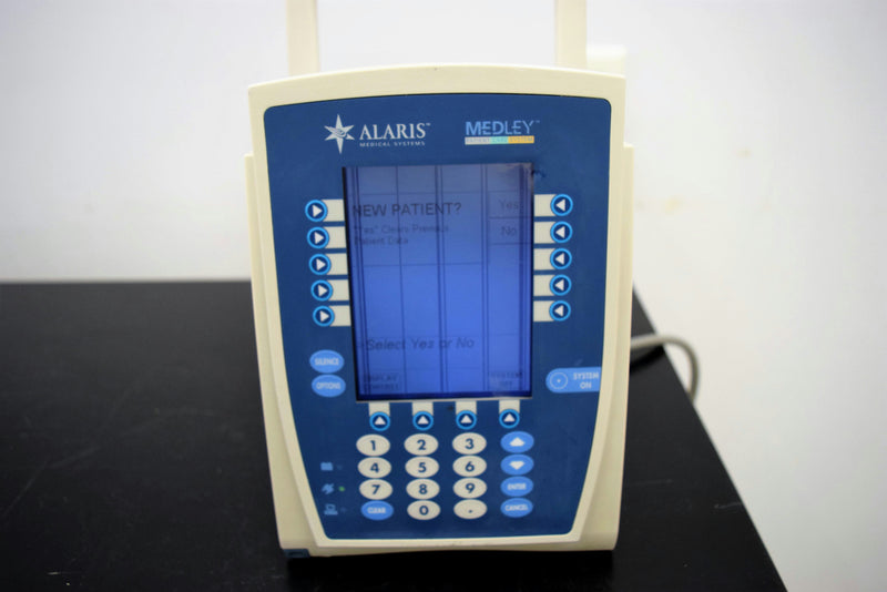 Used: Carefusion Alaris Medley 8000 Advanced Programming PCU Infusion Pump S/N:3668143
