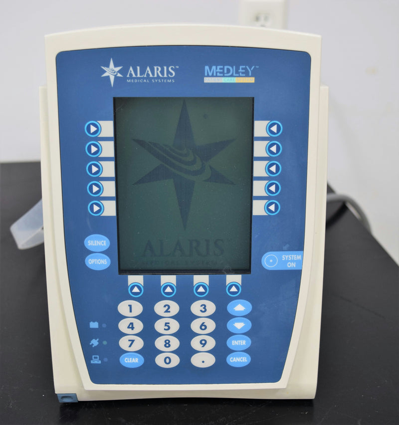 Used: Carefusion Alaris Medley 8000 Advanced Programming PCU Infusion Pump S/N:3669729