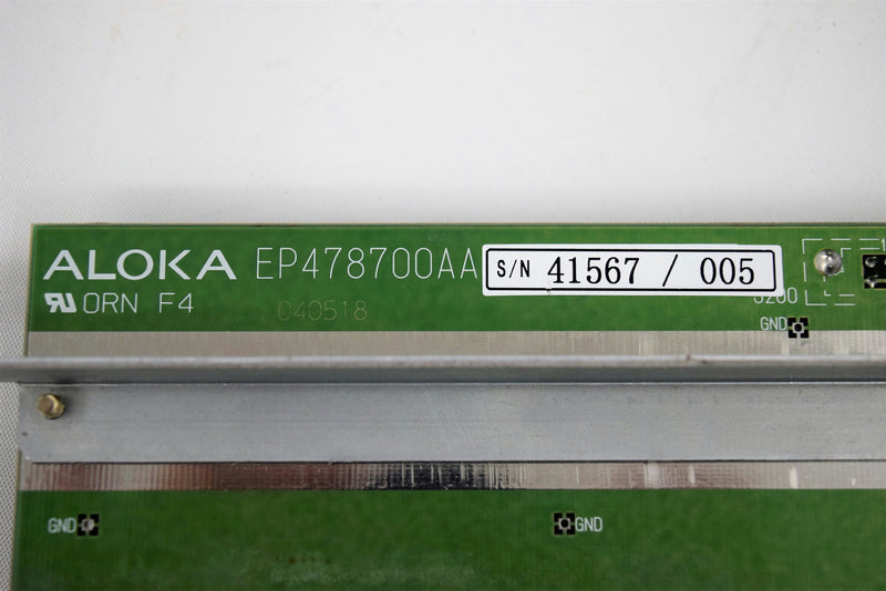 Used: Aloka SSD-3500 Ultrasound Part PC Connector Board