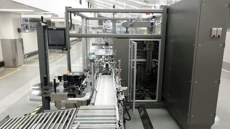 Used: 2013 IMA CPV15 Case Packer Erector For Packaging Pharmaceuticals Cosmetics Foods