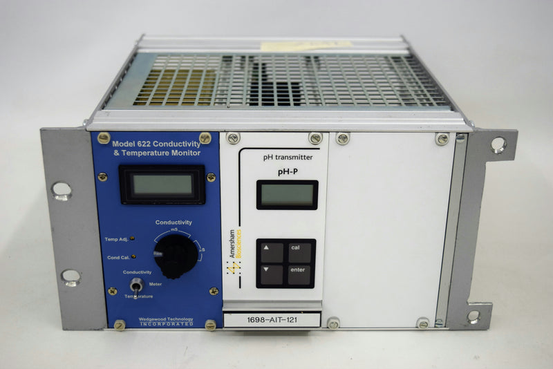 Used: Wedgewood 622 Conductivity & Temperature Monitor Amersham pH-P Transmitter