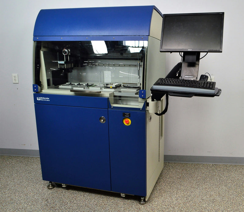 Used: Molecular Devices IonWorks Barracuda Automated Patch Clamp Electrophysiology