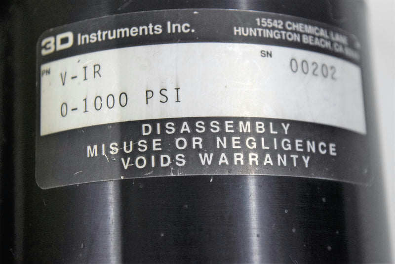 For Parts or Repair: Micron Meters PS035 Pressure Monitor & Pressure Controller V-1R