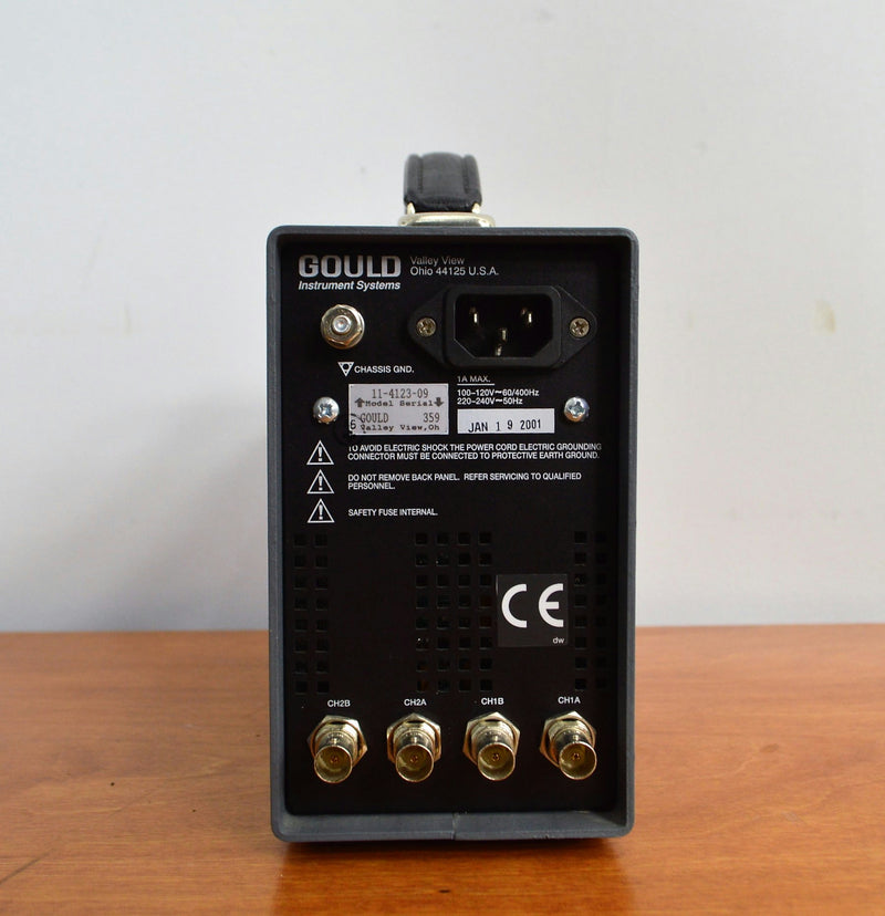 Used: Gould Instruments Model 11-4123-09 AC/DC 2 Channel Signal Conditioner