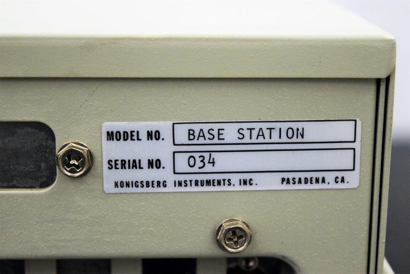 Used: Konigsberg Instruments LabMAN 8000A Base Station PC-Bus Industrial Computer