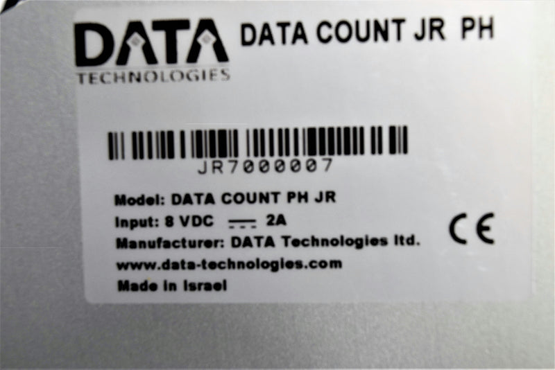 Data Technologies Data Count Jr PH Tablet Pellet Counting Pharmaceutical