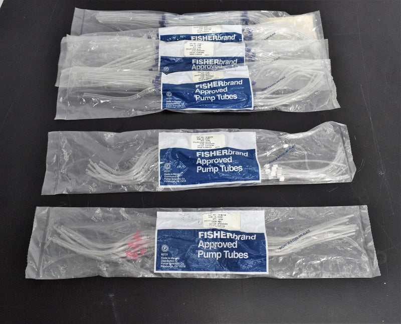 Used: Fisherbrand Manifold Pump Tubing Blue 0.065 Red 0.045 & White 0.040 (Lot of 6)