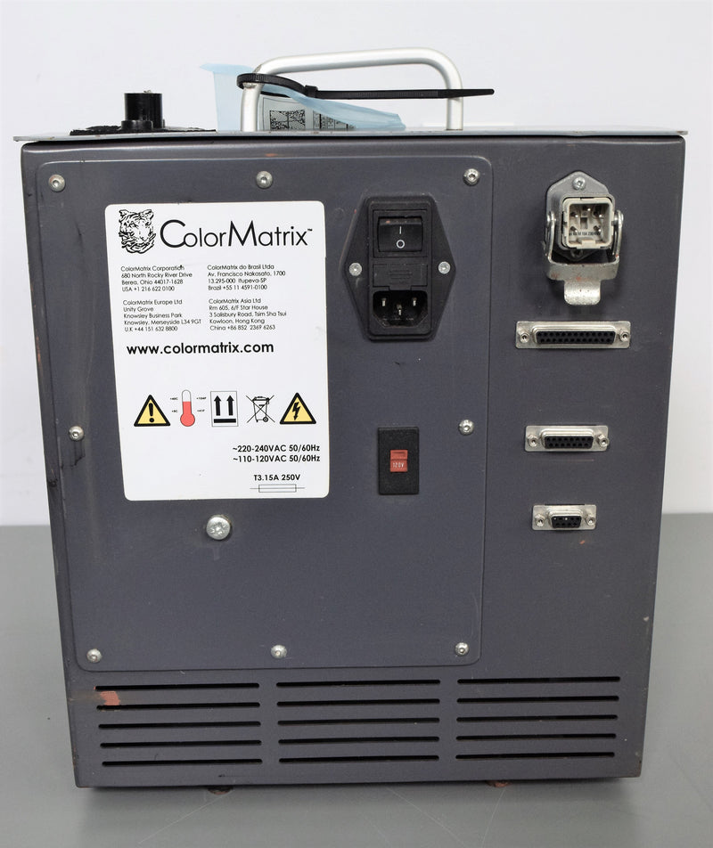 Used: Colormatrix CMG3000 Color Dosing Systems for Injection Molding & Extrusion