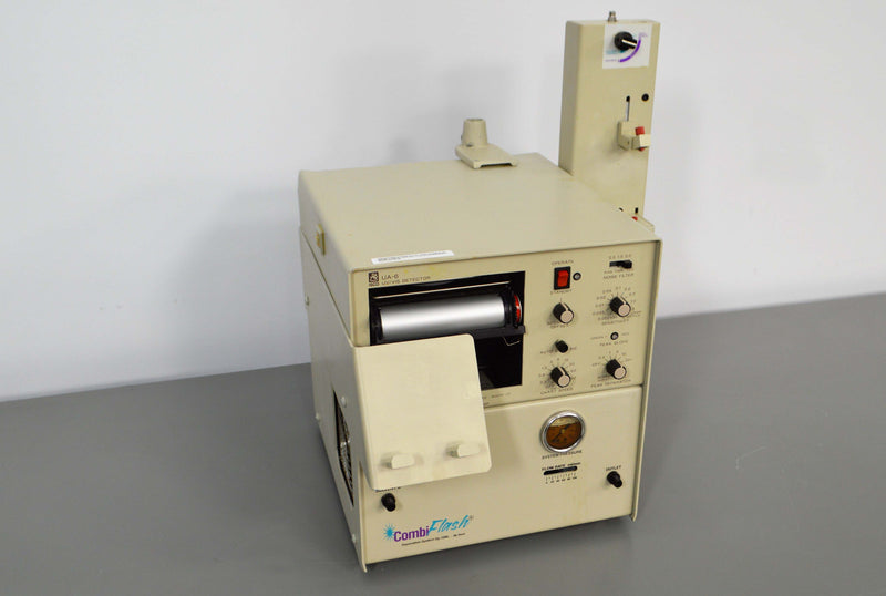 Used: Isco CombiFlash SG100C HPLC UA-6 UV/Vis Detector w/ Fraction Collector & Pump