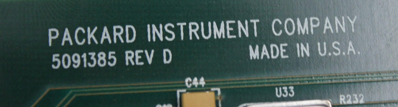 Used: Packard Instrument 5091385 Rev D PCB