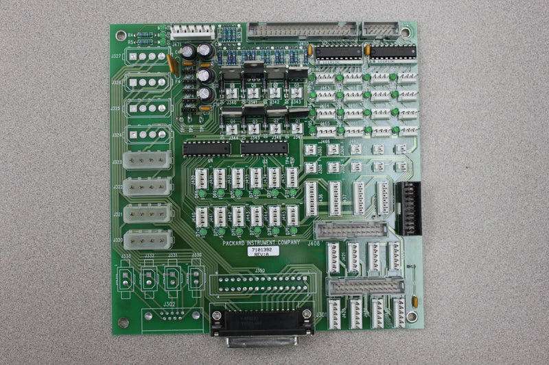 Used: Packard Instrument 7101392 Rev A PCB
