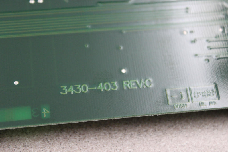 Axon Instruments 3430-403 Rev:C Assy No. 2270-0364 PCB