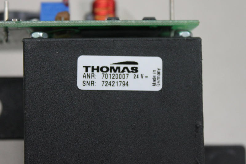 Used: Thomas SNR 72421794 w/ Diagnostic Grifoils FBOMBA-2 DG-57 PCB for Ortho Provue