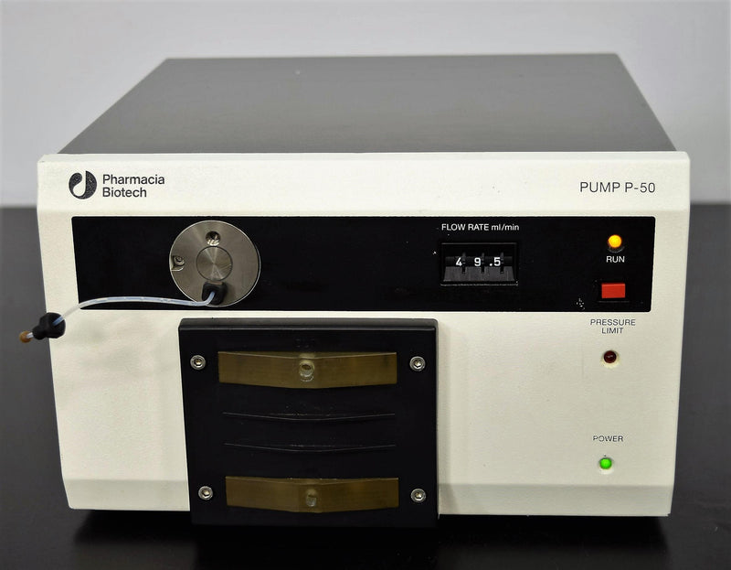 Used: Pharmacia Biotech P-50 Pump Biocompatible Microbiology Liquid Chromatography