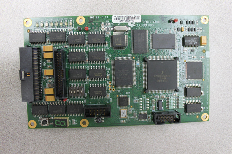 Used: Instrumentation Laboratory Assy No. 286390-00 PCB from ALC Top 700 CTS System