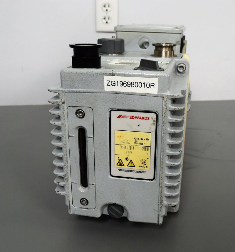 For Parts or Repair: Edwards 18 vacuum pump Pulls to 25 Microns - Parts Unit