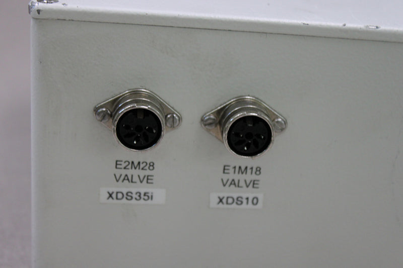 For Parts or Repair: Micromass Pump Switching Box 4175 Part No. 4176001BC1 f/ Sequenom Mass Spec