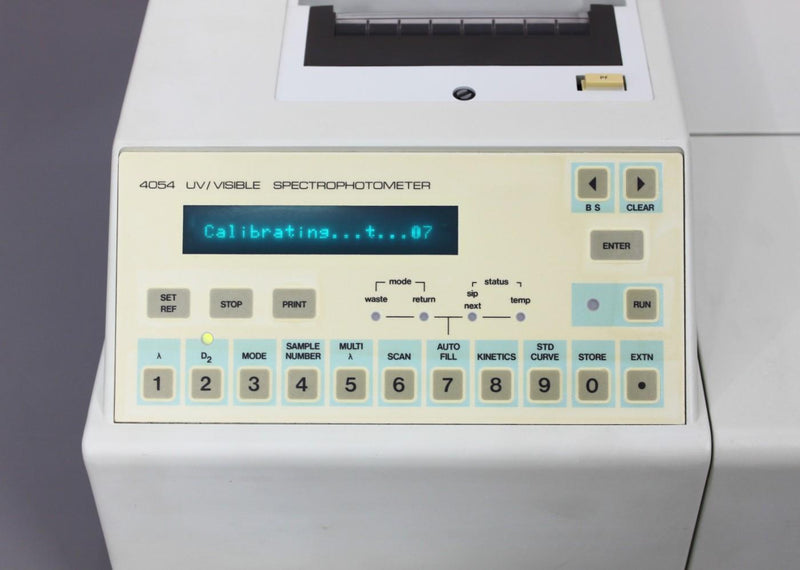 For Parts or Repair: LKB Biochrom Ultrospec Plus 4054 UV/Visible Spectrophotometer