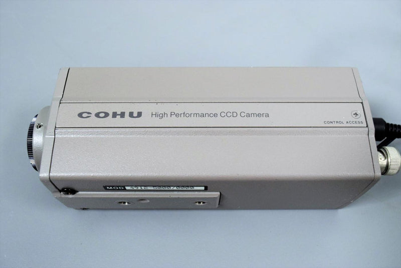 Used: COHU 4912-5000 High Performance Monochrome CCD Camera Surveillance - Scientific