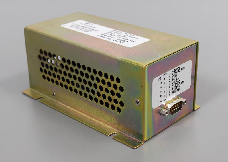Used: Perkin Elmer PS-378 P/N: 4200-0047 Power Supply Input: 24VDC  Output:350-1000VDC