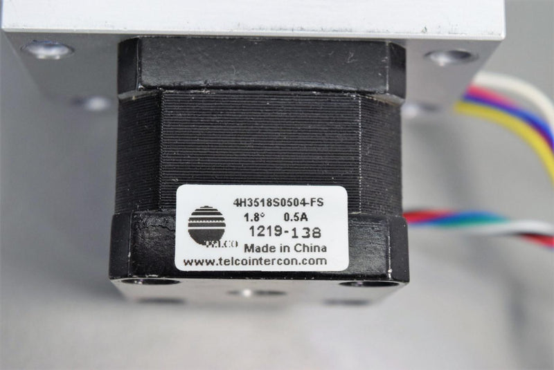 Used: Telco 4H3518S0504-FS High Torque Stepper Motor 0.5A w/Optical Sensor Switch