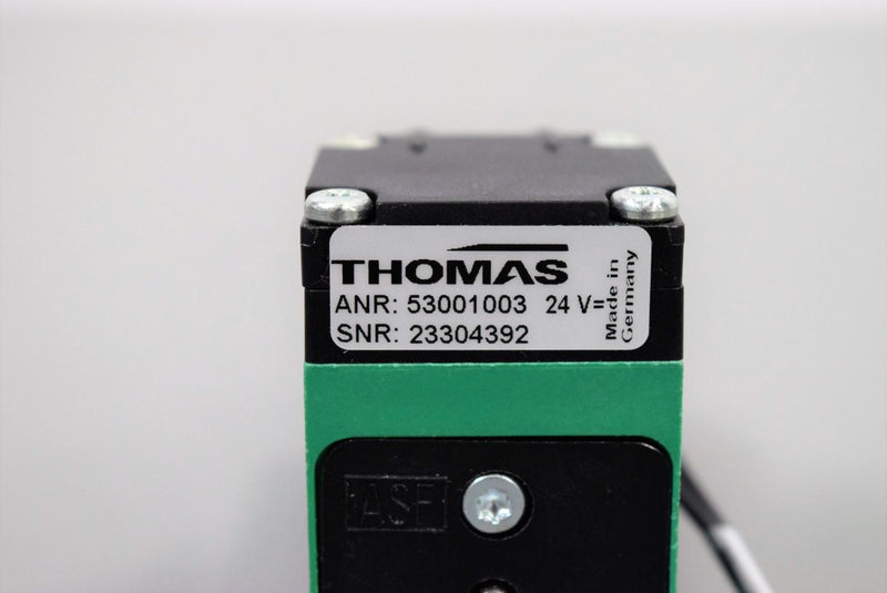 Used: Thomas 53001003 Miniature Liquid Diamphragm Pump for Immucor Galileo Echo