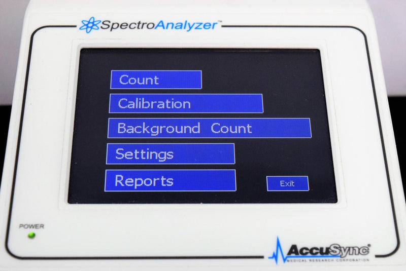 Used: AccuSync Spectro Analyzer SA1000-1S Single Channel PHA Controller
