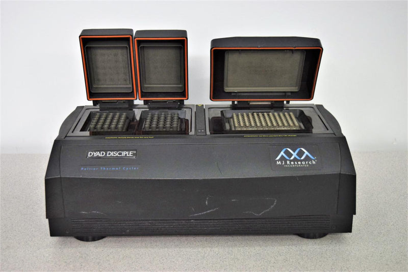 For Parts or Repair: Bio-Rad PTC-221 MJ Research DYAD Disciple Peltier Thermal Cycler  w/Alpha Block