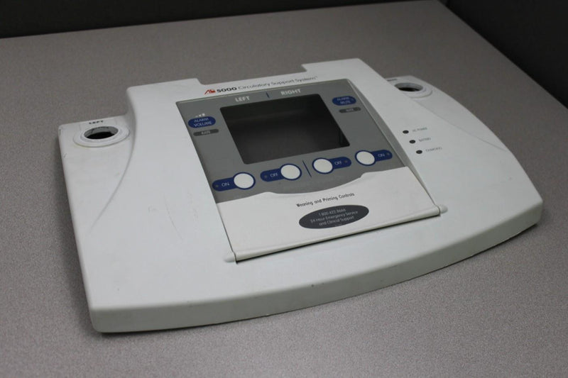 Used: Front Cover Control Panel from Abiomed AB5000 Circulatory Support System