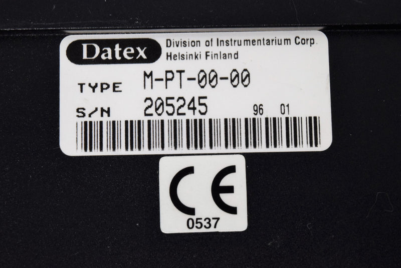 Used: Datex Ohmeda M-PT-00-00 Patient Pressure Temperature Module with 90-Day Warranty