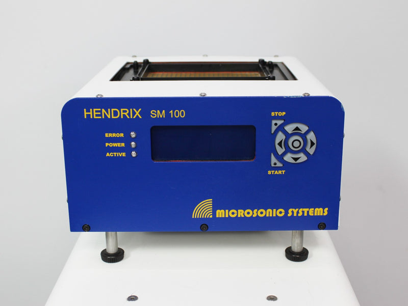 For Parts or Repair: Microsonic Systems Hendrix SM100 Plate Ultrasonic Fluid Processor Base Control