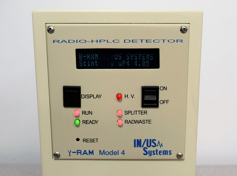 For Parts or Repair: IN/US Systems B-RAM & Y-RAM Model 4A Radioactivity HPLC Detector