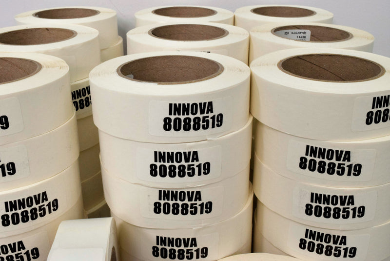 Used: BD Innova Processor Cat. Number 442428 Barcode Label Rolls (Lot of 58)